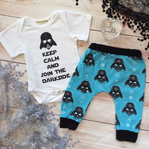a25a09ced19 Boutique Baby Star Wars 2pc Outfit